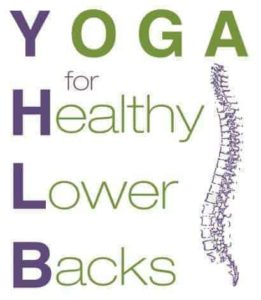 Yoga for Healthy Lower Backs logo