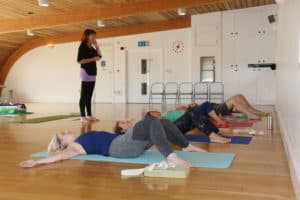 YHLB Yoga group course for UK commissioning