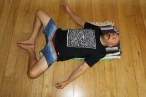 YHLB Yoga - Reclined Cobbler Pose