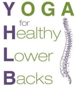Yoga for Healthy Lower Backs logo